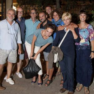 Foto di gruppo con Jasmine - La valigia dell'attore 2015 - Foto di Nanni Angeli