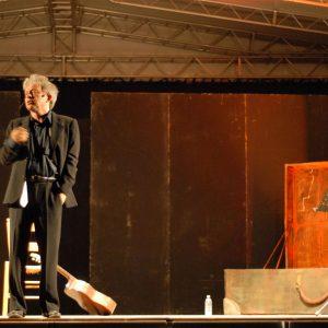 Sulla strada ancora - Paolo Rossi - La valigia dell'attore 2008 - Foto di Fabio Presutti 3