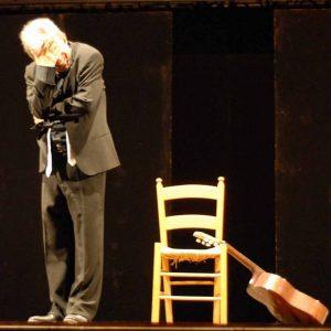 Sulla strada ancora - Paolo Rossi - La valigia dell'attore 2008 - Foto di Fabio Presutti