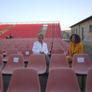 Paolo Rossi, Giovanna Gravina - La valigia dell'attore 2008 - Foto di Fabio Presutti