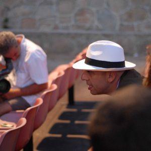 Paolo Virzì - La valigia dell'attore 2008 - Foto di Fabio Presutti