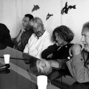 C.E.A.- Caprera - F. Laudadio, G. Gravina, G. Cabiddu, F. Deriu, F. Marotti - La valigia dell'attore 2006 - Foto di Tatiano Maiore
