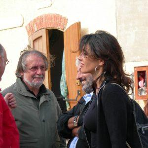 C.E.A.- Caprera - F. Canu, F. Laudadio, O. Gregoretti - La valigia dell'attore 2006 - Foto di Franco Rea
