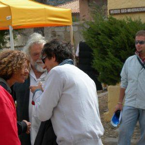 C.E.A.- Caprera - S. Rubini, F. Marotti, G. Gravina, A. Bebbu - La valigia dell'attore 2006 - Foto di Franco Rea