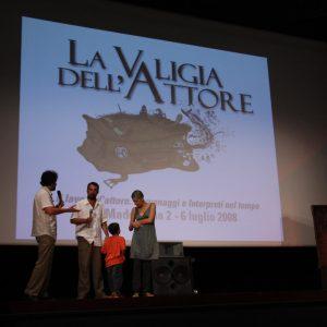 B. Sollazzo, F. Munzi, S. Ceccarelli - La valigia dell'attore 2008 - Foto di D. Pirini