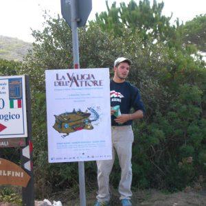 Riccardo Tramonti - La valigia dell'attore 2006 - Foto di Piera Gennari