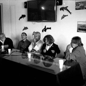 C.E.A.- Caprera - F. Laudadio, G. Gravina, G. Cabiddu, F. Deriu, F. Marotti - La valigia dell'attore 2006 - Foto di Marco Navone 2