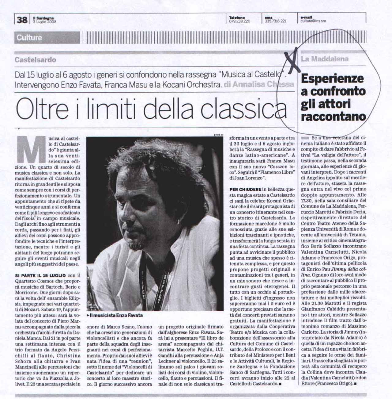 03-07-08 Il Sardegna Culture - Copia
