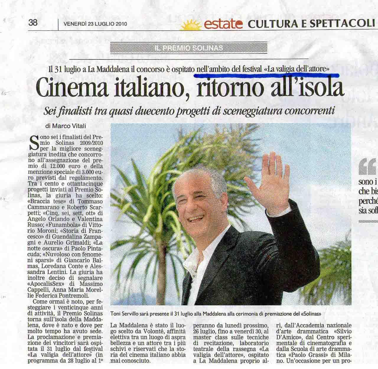 23-07-2010 (2) La Nuova Sardegna