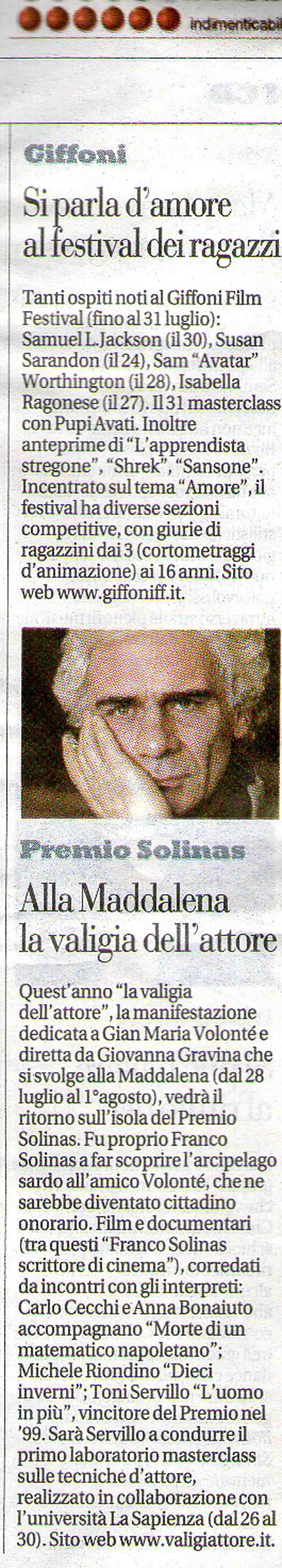 24-07-2010 La Repubblica