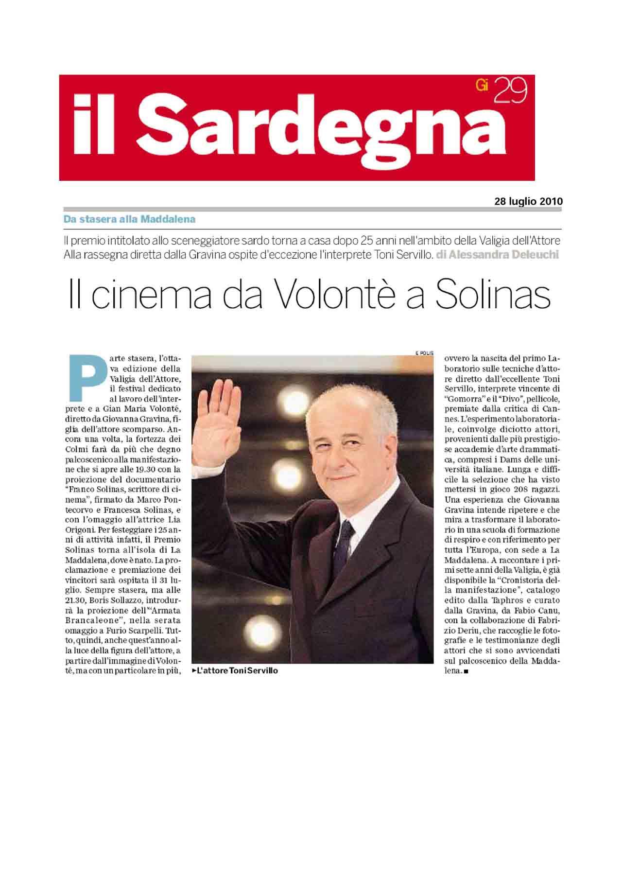 28 07 10 Il Sardegna