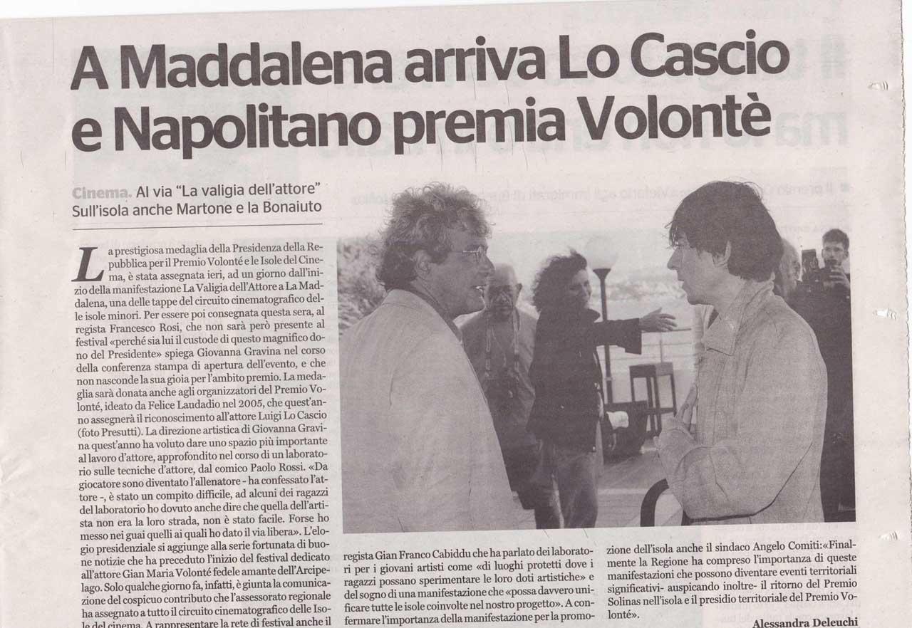 Sardegna24 del 27.07.11