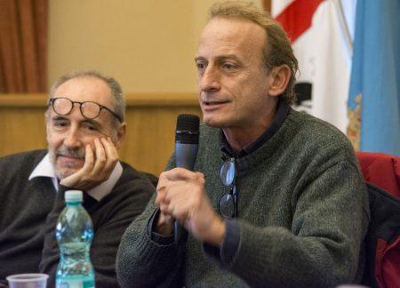 10 Dicembre 2016 - La valigia dell'attore - Secondo Atto - Incontro con le scuole - Francesco Origo - Enrico Pau