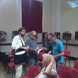 29 luglio - Ex magazzini Ilva · Cala Gavetta · Incontro con Enrico Pau, Francesco Piras - La Valigia dell'Attore 2016