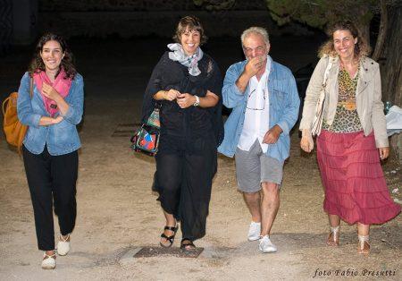 La Valigia dell'Attore 2016 - Staff - Federica Biosa - Monica Bulciolu -Santo Acciaro - Roberta De Marzo - foto Fabio Presutti