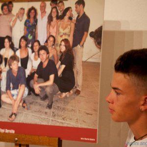 31 luglio 2016 - Ex magazzini Ilva - Cala Gavetta - Incontro con Alessandro Borghi e Roberta Mattei - foto di Nanni Angeli