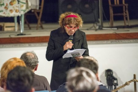 9 Dicembre 2016 - Sala Primo Longobardo - La valigia dell'attore 2016 Secondo Atto - Giovanna Gravina