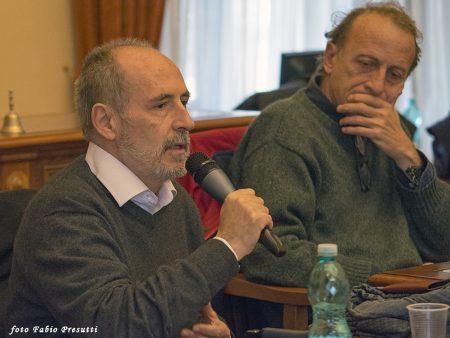 10 Dicembre 2016 - La valigia dell'attore - Secondo Atto - Incontro con le scuole - Enrico Pau - Francesco Origo