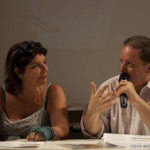 30 luglio 2016 - Ex magazzini Ilva - Cala Gavetta - Omaggio ad Ettore Scola - Silvia Scola - Enrico Magrelli - foto di Nanni Angeli