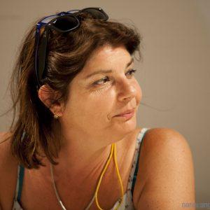 30 luglio 2016 - Ex magazzini Ilva - Cala Gavetta - Omaggio ad Ettore Scola . Con SIlvia Scola - foto di Nanni Angeli