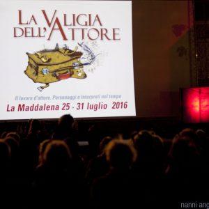 """31 Luglio 2016 - Fortezza I Colmi - La Valigia dell'Attore - Omaggio a Francesco Rosi e Gian Maria Volonté. Con Carolina Rosi. Proiezione (in 35mm!) del film """"Cronaca di una morte annunciata"""" - foto Nanni Angeli"""