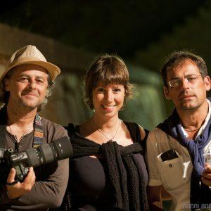 La Valigia dell'Attore 2016 - Staff - Fabio Presutti - Monica Bulciolu - Luca Ronchi - foto Nanni Angeli