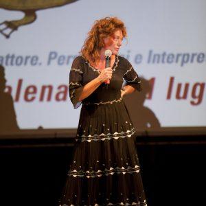 31 Luglio 2016 - Fortezza I Colmi - La Valigia dell'Attore 2016 - Carolina Rosi - foto Nanni Angeli