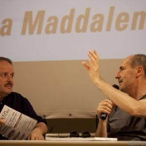 29 luglio - Ex magazzini Ilva · Cala Gavetta · Incontro con Enrico Pau, Francesco Pamphili, Francesco Piras - La Valigia dell'Attore 2016 - foto Nanni Angeli