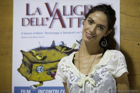 29 luglio - Fortezza I Colmi - La Valigia dell'Attore 2016 - Roberta Mattei - Foto di Nanni Angeli