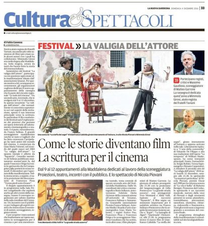 La Nuova Sardegna 04-12-2016