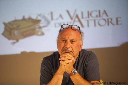 28 luglio - Fortezza I Colmi - Incontro con Babak Karimi condotto da Enrico Magrelli Boris Sollazzo Fabrizio Deriu - La Valigia dell'Attore 2017 - foto di Nanni Angeli
