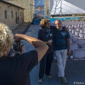 28 luglio - Fortezza I Colmi - Giovanna Gravina e Babak Karimi - La Valigia dell'Attore 2017 - foto di Fabio Presutti