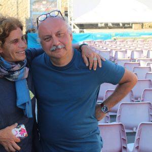 28 luglio - Fortezza I Colmi - Giovanna Gravina e Babak Karimi - La Valigia dell'Attore 2017 - foto di Valeria Serra