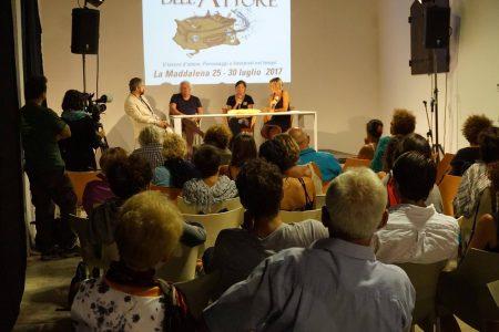 30 luglio - Fortezza I Colmi - Incontro con Lou Castel a cura di Fabienne Duszynski e presentazione del documentario A PUGNI CHIUSI di Pierpaolo De Sanctis - La Valigia dell'Attore 2017 - foto di Santo Acciaro
