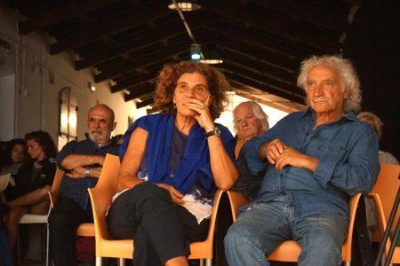 30 luglio - Fortezza I Colmi - Incontro con Lou Castel - Giovanna Gravina e Pierluigi Giorgio - La Valigia dell'Attore 2017 - foto di Santo Acciaro