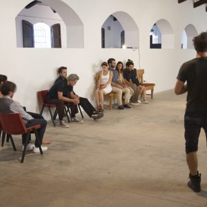 ValigiaLab 2017 - Laboratorio condotto da Michele Riondino con l'assistenza di Fabrizio Deriu - Primo e secondo giorno - Foto di Ugo Buonamici