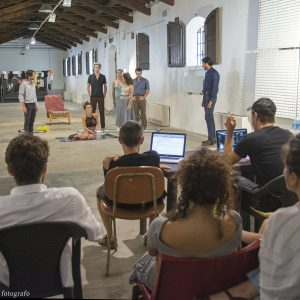 ValigiaLab 2017 - Laboratorio condotto da Michele Riondino con l'assistenza di Fabrizio Deriu - ultimi giorni - Foto di Fabio Presutti