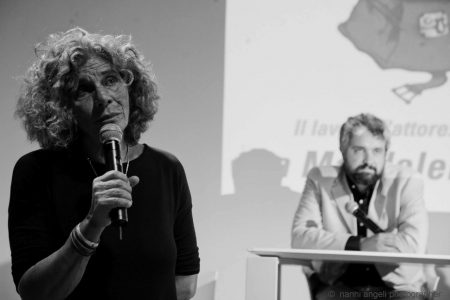 26 luglio - Fortezza i Colmi - Incontro con Tina Loiodice - Giovanna Gravina, Boris Sollazzo - foto di Nanni Angeli