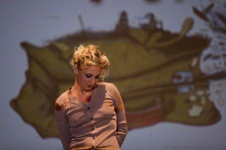 26 luglio - Fortezza i Colmi - Premio Volonté a Michele Riondino - Jasmine Trinca - foto di Nanni Angeli