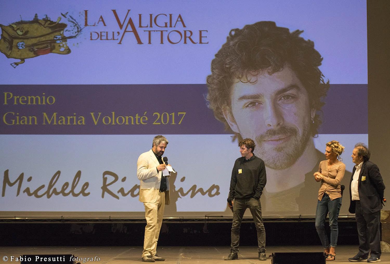 Michele Riondino riceve Premio Volonté - foto di Fabio Presutti