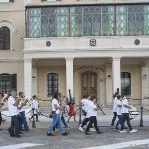 """25 luglio - """"ANTEPRIMA"""" – Banda in marcia verso l'Arena La Conchiglia – Arena La Conchiglia - La Valigia dell'Attore 2017 - Foto di Fabio Presutti"""