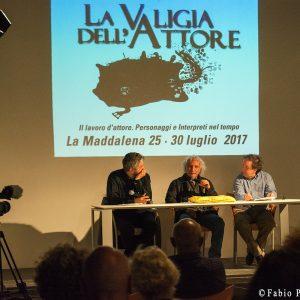 27 luglio - Fortezza i Colmi - Incontro con Pierluigi Giorgio -La Valigia dell'Attore 2017 - foto di Fabio