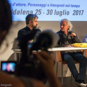27 luglio - Fortezza i Colmi - Incontro con Pierluigi Giorgio -La Valigia dell'Attore 2017 - foto di Fabio Presutti