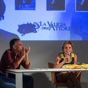 29 luglio - Fortezza I Colmi - Incontro con Antonia Truppo - La Valigia dell'Attore 2017 - foto di Fabio Presutti
