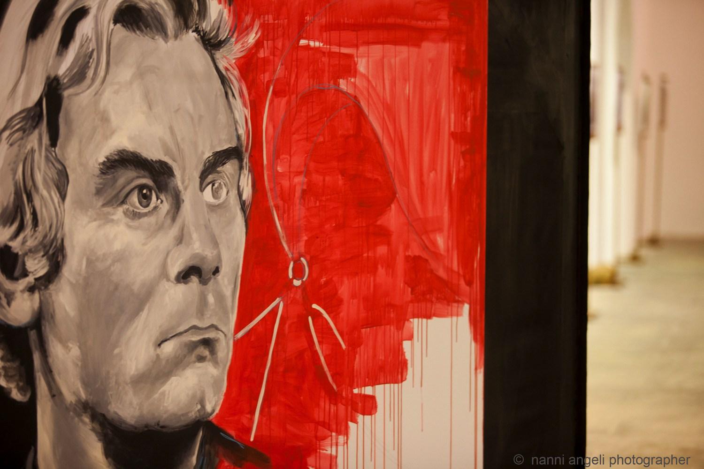 live painting di Tina Loiodice - foto di Nanni Angeli