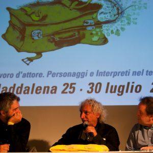 27 luglio - Fortezza i Colmi - Incontro con Pierluigi Giorgio - La Valigia dell'Attore 2017 - foto di Nanni Angeli