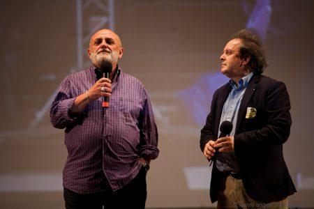 27 luglio - Fortezza i Colmi - Franco Trevisi (Borsa di studio del Nuovo Imaie) e Enrico Magrelli - La Valigia dell'Attore 2017 - foto di Nanni Angeli