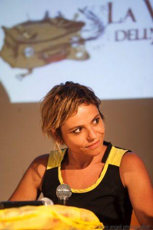 29 luglio - Fortezza I Colmi - Incontro con Antonia Truppo - La Valigia dell'Attore 2017 - foto di Nanni Angeli