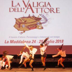 La Valigia dell'Attore - 25 luglio 2018 – Fortezza i Colmi – Compagnia Danz'Arte - foto di Nanni Angeli