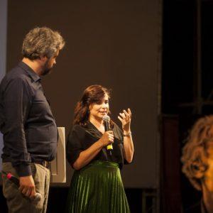 La Valigia dell'Attore - Venerdi 27 luglio 2018 - Ore 21,30 - Fortezza I Colmi - Consegna del Premio Cagliari Film Fest a Annarita Zambrano - Foto di Nanni Angeli